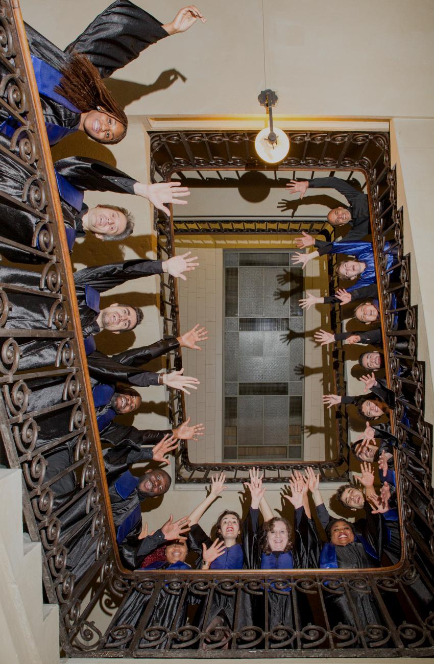 Gospel Soul dans l'escalier